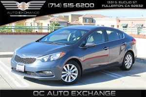 2014 Kia Forte EX Carfax Report - No AccidentsDamage Reported  Steel Blue          16398 Pe