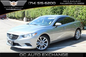 2014 Mazda Mazda6 i Touring Carfax 1-Owner - No AccidentsDamage Reported  Liquid Silver Metall