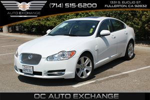 2011 Jaguar XF  Carfax Report - No AccidentsDamage Reported  Polaris White          30068 P