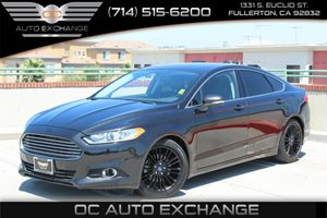 2014 Ford Fusion SE Carfax 1-Owner - No Accidents  Damage Reported to CARFAX  Tuxedo Black Met