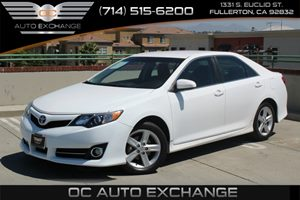 2013 Toyota Camry SE Carfax Report - No AccidentsDamage Reported  Super White  We are not res