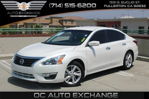 2013 Nissan Altima 25 SV Carfax Report - No AccidentsDamage Reported  Pearl White  We are no