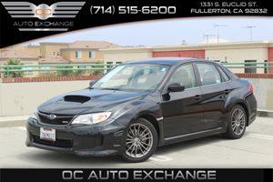 2013 Subaru Impreza Sedan WRX WRX Carfax Report - No AccidentsDamage Reported  Crystal Black S