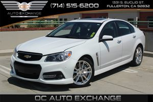 2014 Chevrolet SS  Carfax Report  Heron White          45236 Per Month - On  Approved Credit