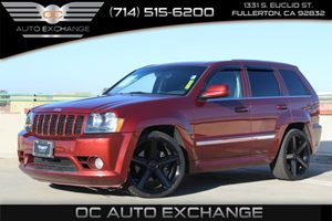 2007 Jeep Grand Cherokee SRT-8 Carfax Report - No AccidentsDamage Reported  Burgundy 2007 JEE