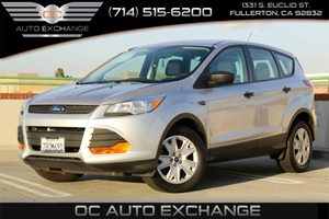 2014 Ford Escape S Carfax 1-Owner - No AccidentsDamage Reported  Ingot Silver Metallic 2014 F