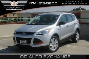 2014 Ford Escape S Carfax 1-Owner - No AccidentsDamage Reported  Ingot Silver Metallic  We ar