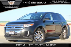 2013 Ford Edge Limited Carfax Report  Tuxedo Black Metallic 2013 FORD EDGE LIMITED 35L V6 F