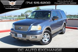 2003 Ford Expedition Eddie Bauer Carfax Report - No AccidentsDamage Reported  Black  We are n