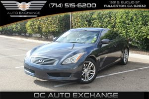2008 Infiniti G37 Coupe Journey Carfax Report  Athens Blue          17307 Per Month - On App