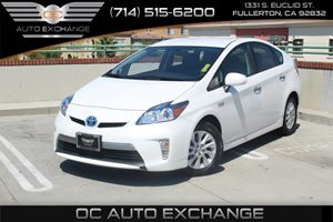 2013 Toyota Prius Plug-In  Carfax 1-Owner  Super White  We are not responsible for typographic