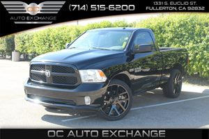 2014 Ram 1500 ST Carfax Report - No AccidentsDamage Reported  Black Clearcoat          2640