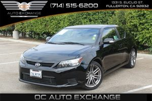 2013 Scion tC  Carfax Report - No AccidentsDamage Reported  Black  We are not responsible for