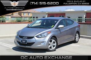 2013 Hyundai Elantra GLS Carfax 1-Owner - No AccidentsDamage Reported  Titanium Gray Metallic
