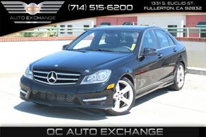 2014 MERCEDES C250 Luxury Sedan Carfax 1-Owner  Black  We are not responsible for typographica