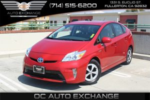 2015 Toyota Prius Two Carfax Report - No AccidentsDamage Reported  Barcelona Red Metallic  We