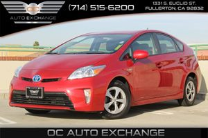 2015 Toyota Prius Two Carfax 1-Owner - No AccidentsDamage Reported  Barcelona Red Metallic 20