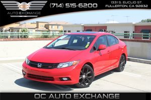 2012 Honda Civic Sdn Si Carfax Report  Rallye Red  We are not responsible for typographical er