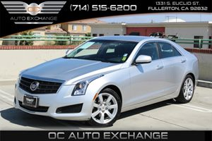 2013 Cadillac ATS  Carfax Report - No AccidentsDamage Reported  Radiant Silver Metallic  We a
