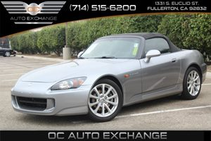 2007 Honda S2000  Carfax Report - No AccidentsDamage Reported  Silverstone Metallic  We are n