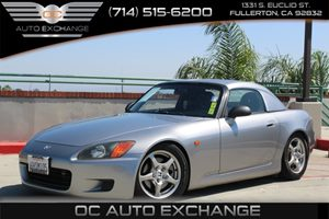 2001 Honda S2000  Carfax Report - No AccidentsDamage Reported  Gray  We are not responsible f