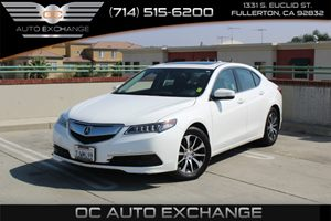2015 Acura TLX  Carfax 1-Owner - No AccidentsDamage Reported  Bellanova White Pearl  We are n