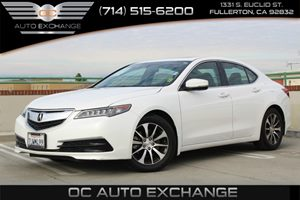 2015 Acura TLX 24L FWD Carfax 1-Owner - No AccidentsDamage Reported  White          32849