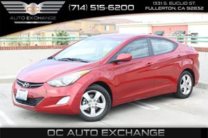 2013 Hyundai Elantra GLS Carfax 1-Owner  Geranium Red  We are not responsible for typographica