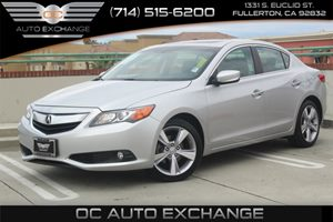 2013 Acura ILX Premium Pkg Carfax 1-Owner - No AccidentsDamage Reported  Silver Moon Metallic