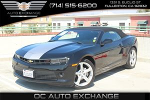 2015 Chevrolet Camaro LT Carfax Report - No AccidentsDamage Reported  Black  We are not respo