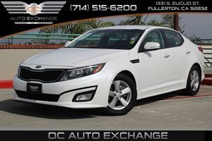 2014 Kia Optima LX Carfax 1-Owner - No AccidentsDamage Reported  Snow White Pearl  We are not