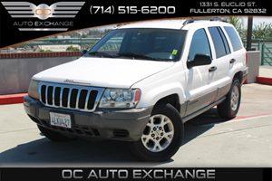 2000 Jeep Grand Cherokee Laredo Carfax Report - No AccidentsDamage Reported  Stone White  We