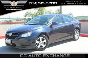 2014 Chevrolet Cruze 1LT Carfax Report - No AccidentsDamage Reported  Atlantis Blue Metallic