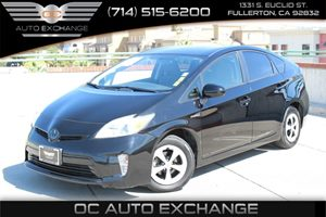 2013 Toyota Prius One Carfax Report - No AccidentsDamage Reported  Black  We are not responsi
