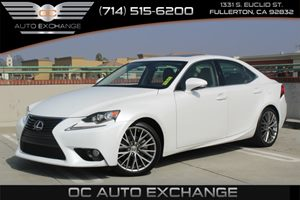 2014 Lexus IS 250  Carfax 1-Owner - No AccidentsDamage Reported  Ultra White  We are not resp
