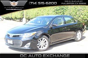 2013 Toyota Avalon XLE Carfax 1-Owner - No AccidentsDamage Reported  Attitude Black Metallic