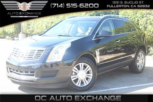 2014 Cadillac SRX Luxury Collection Carfax 1-Owner  Black Ice Metallic  We are not responsible