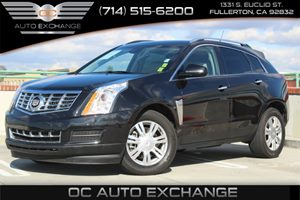 2014 Cadillac SRX Luxury Collection Carfax 1-Owner  Black          31585 Per Month - On Appr