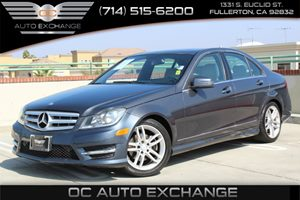 2013 MERCEDES C250 Luxury Sedan Carfax Report - No AccidentsDamage Reported  Gray          2