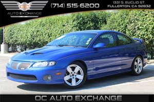 2006 Pontiac GTO  Carfax Report - No AccidentsDamage Reported  Impulse Blue Metallic  Gobble