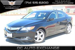 2013 Acura ILX Premium Pkg Carfax Report - No AccidentsDamage Reported  Crystal Black Pearl