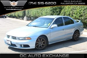 2003 Mitsubishi Galant ES Carfax Report - No AccidentsDamage Reported  Chrome Blue Pearl  We