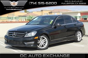 2014 MERCEDES C250 Luxury Sedan Carfax Report - No AccidentsDamage Reported  Black