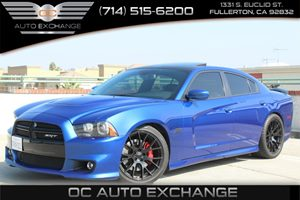 2012 Dodge Charger SRT8 Carfax Report Adaptive Cruise Control Group Black Front Fascia Accent De