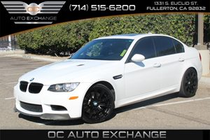 2008 BMW 3 Series M3 Carfax Report  Alpine White  We are not responsible for typographical err