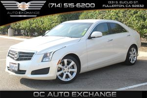 2013 Cadillac ATS Luxury Carfax 1-Owner - No AccidentsDamage Reported  White Diamond Tricoat