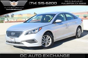 2016 Hyundai Sonata 24L SE Carfax 1-Owner - No AccidentsDamage Reported  Symphony Silver  We