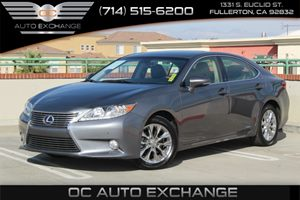 2014 Lexus ES 300h Hybrid Carfax 1-Owner - No AccidentsDamage Reported  Nebula Gray Pearl 201