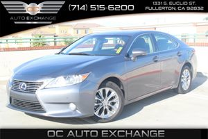 2014 Lexus ES 300h Hybrid Carfax 1-Owner - No AccidentsDamage Reported  Nebula Gray Pearl  We