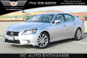 2014 Lexus GS 350 RWD Carfax 1-Owner - No AccidentsDamage Reported  Silver          35377 P